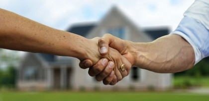 buying property in a trust